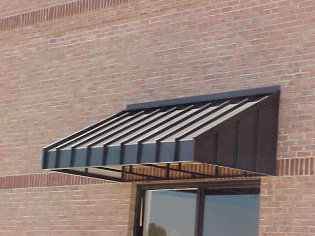 Spurlin Signs Sherwin Williams Standing Seam Metal Awning